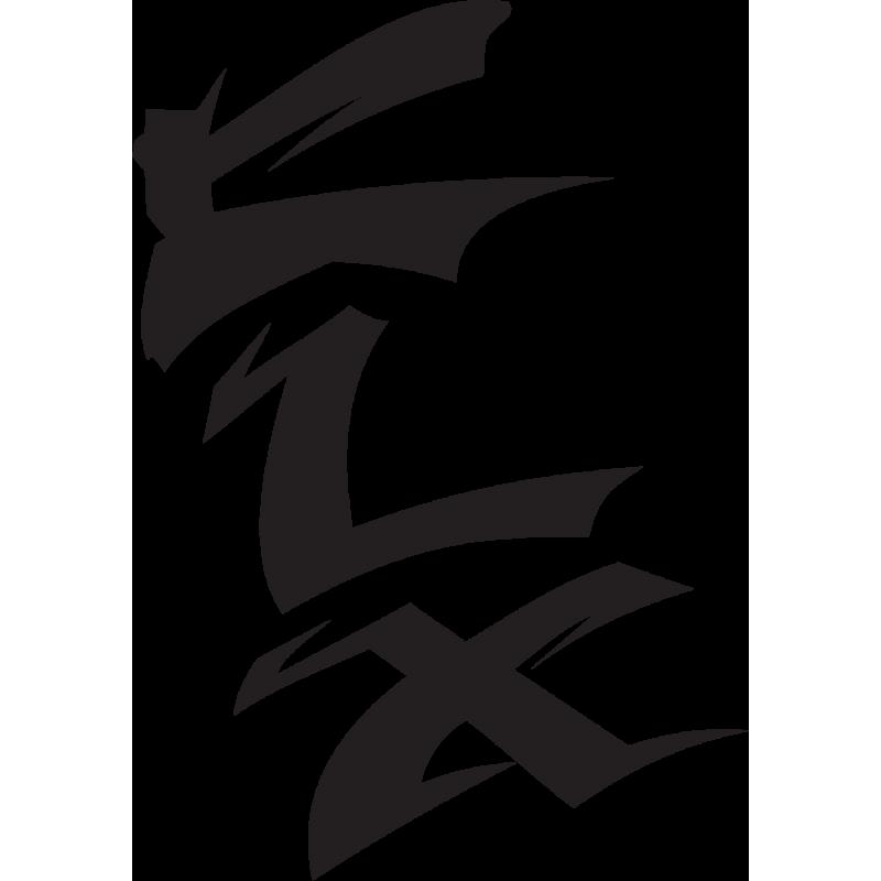 Sticker Kawasaki Klx