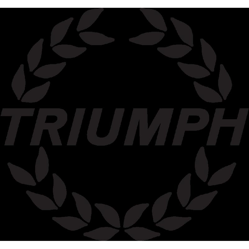 Sticker Triumph Couronne
