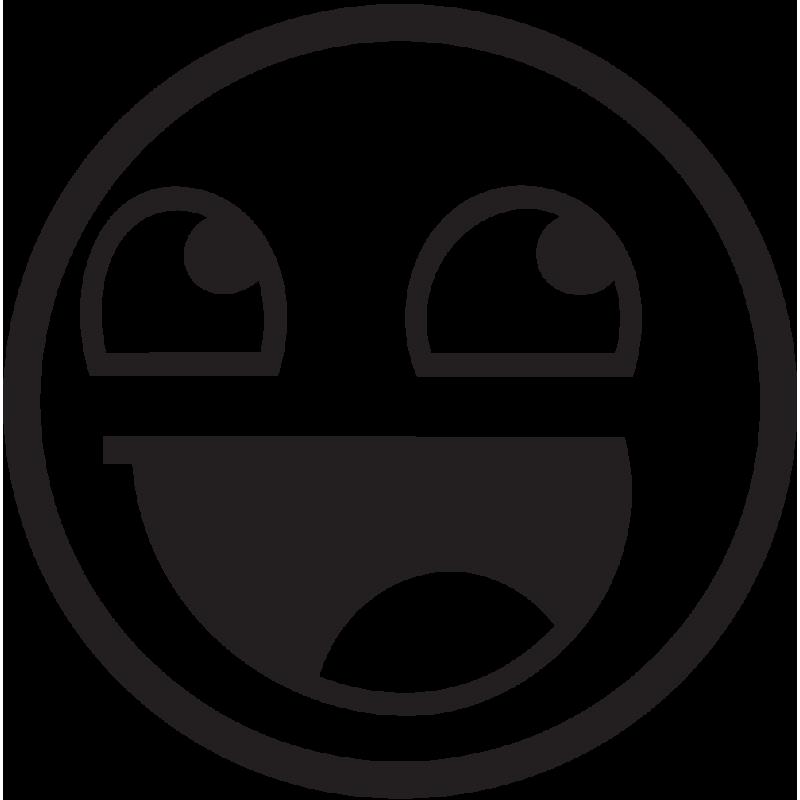 Sticker Jdm Happy Smile