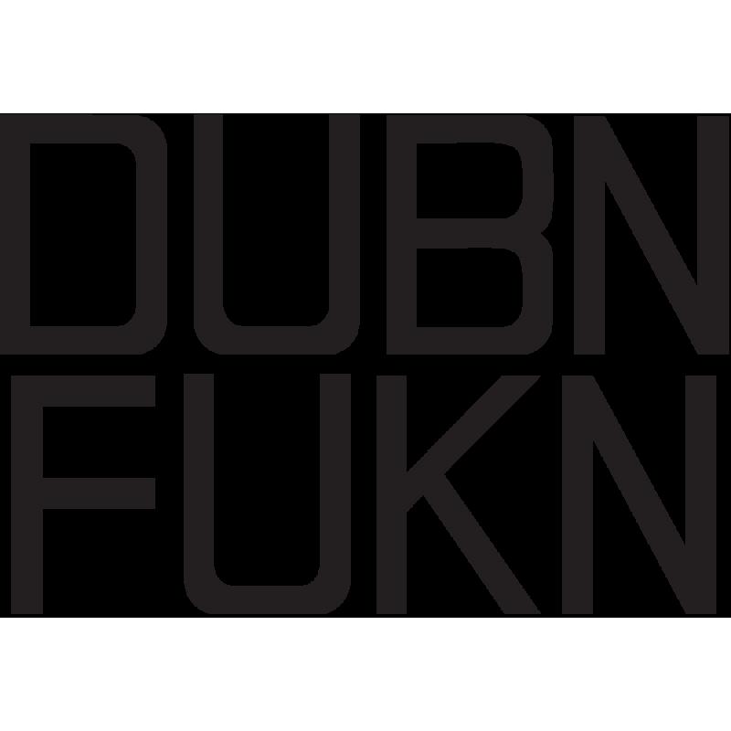 Sticker Jdm Dubn Fuckn