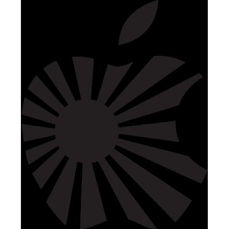 Sticker Jdm Japan Apple