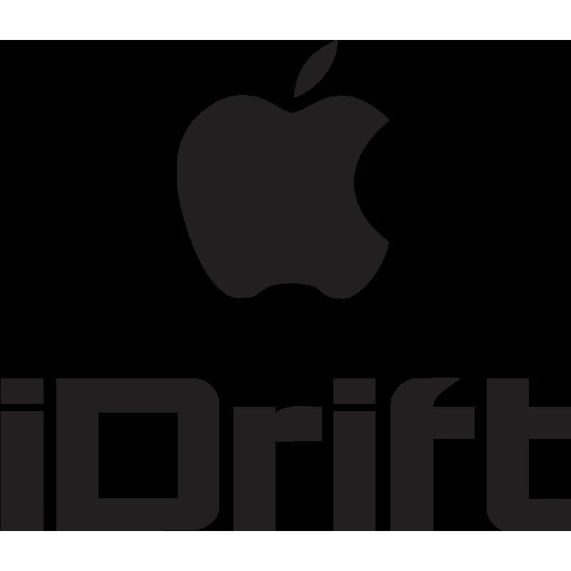 Sticker Jdm I Drift Apple