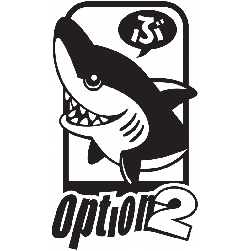 Sticker Jdm Option 2 Requin