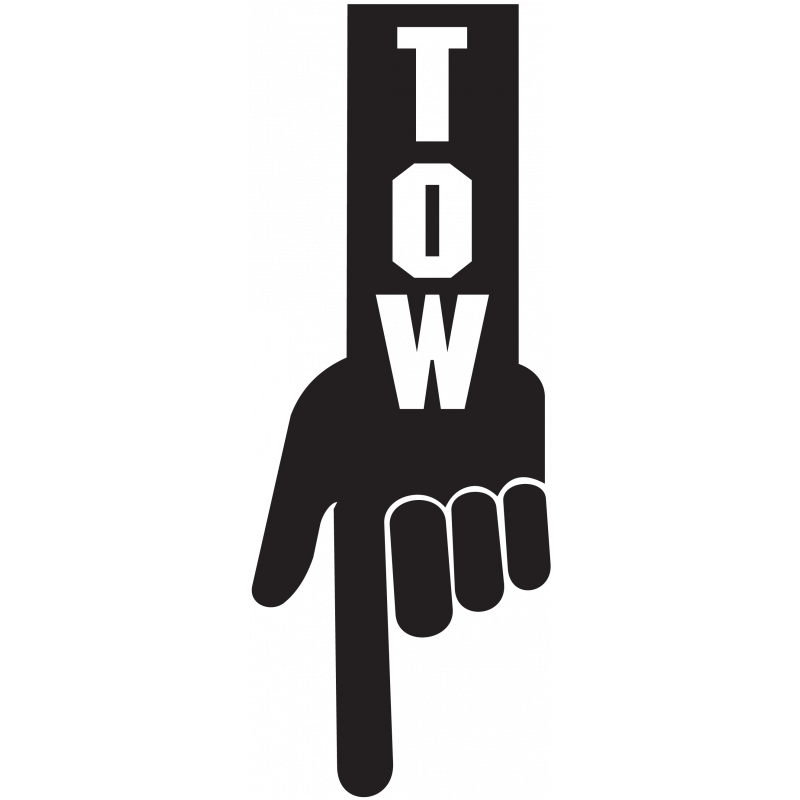 Sticker Jdm Tow
