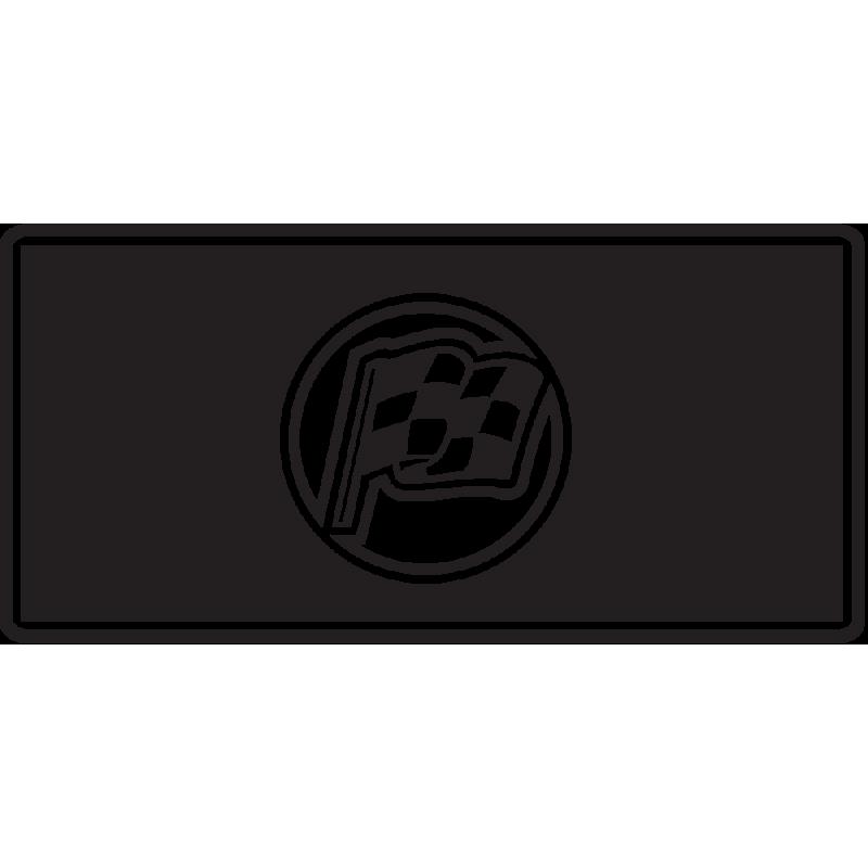 Sticker Jdm Drapeau