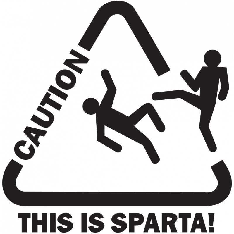Sticker Jdm This Is Sparta!