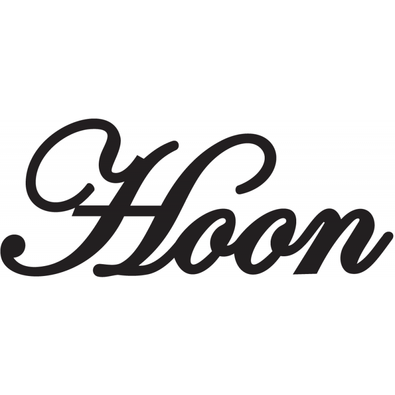 Sticker Jdm Hoon