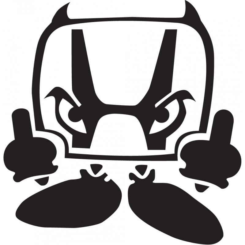 Sticker Jdm Honda Devil