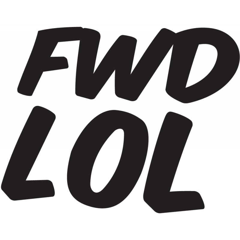 Sticker Jdm Fwd Lol