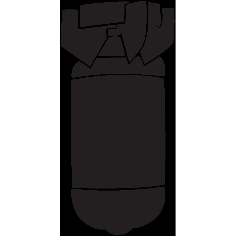 Sticker Jdm Bombe