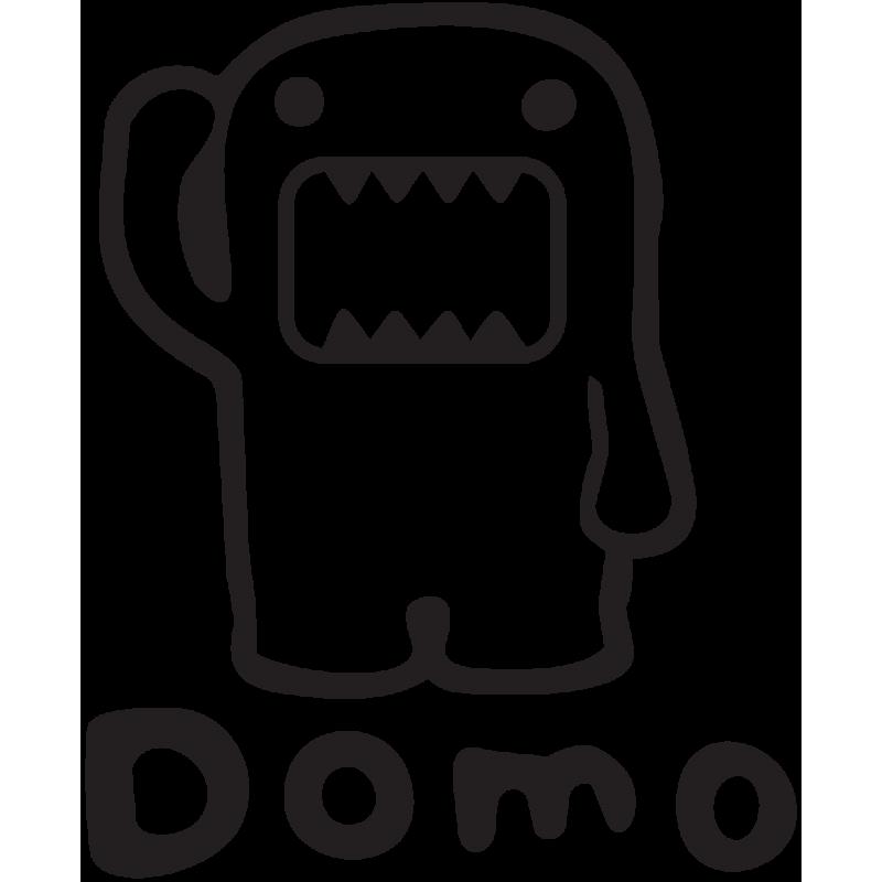 Sticker Jdm Angry Domo
