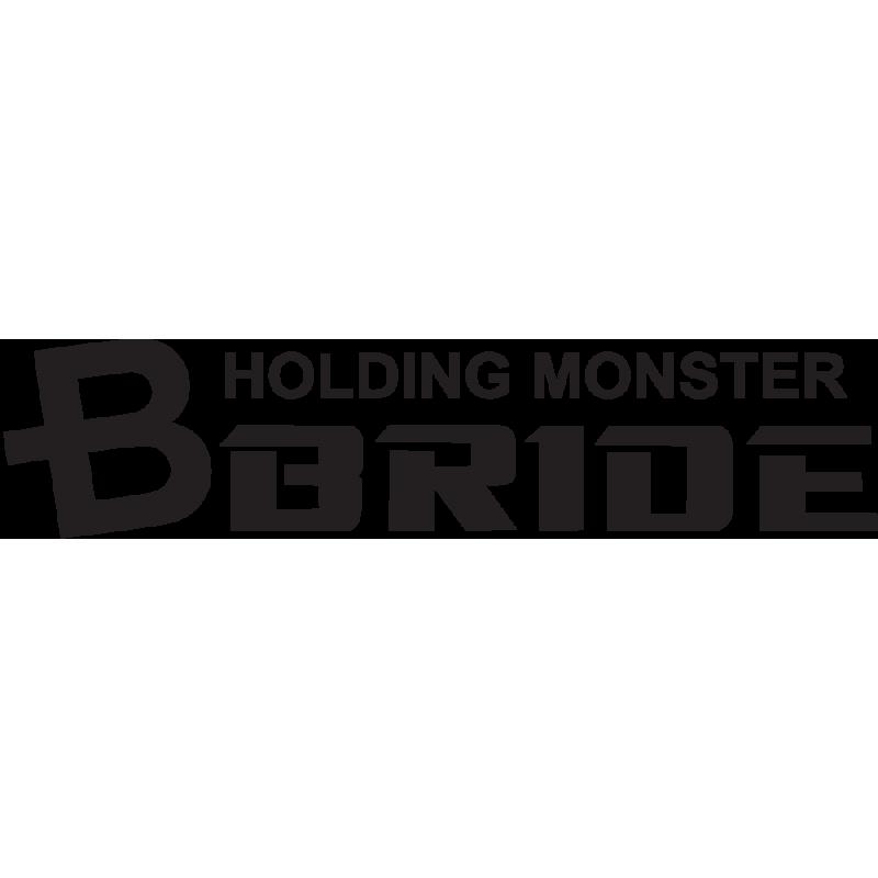 Sticker Jdm Holding Monster Bride