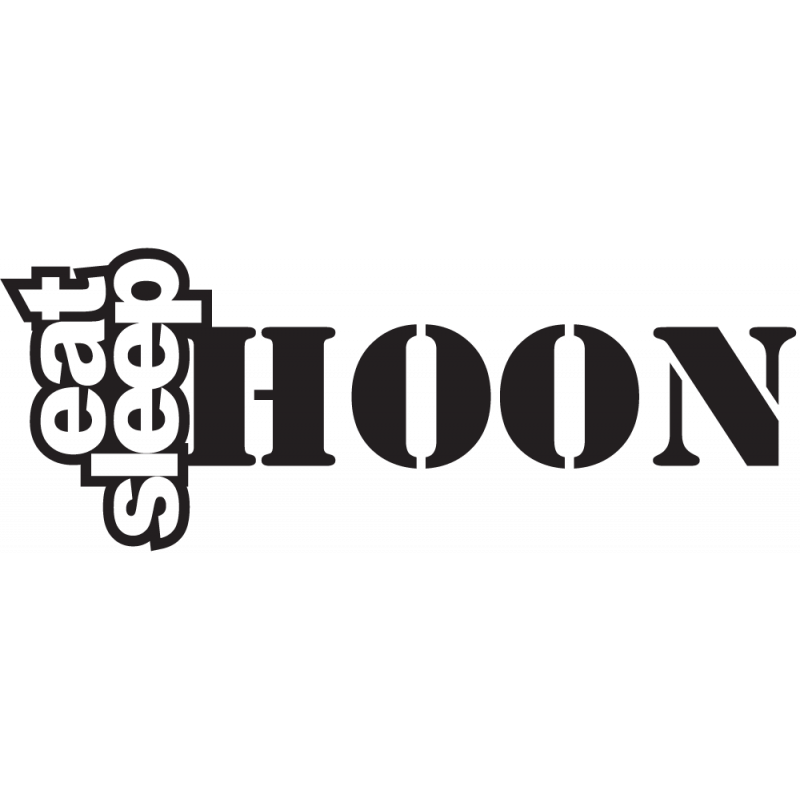 Sticker Jdm Eat Sleep Hoon