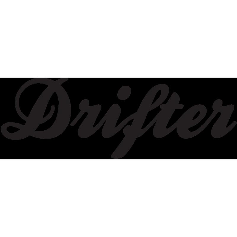 Sticker Jdm Drifter