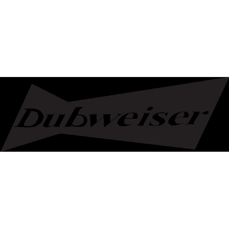 Sticker Jdm Dubweiser