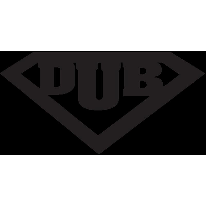 Sticker Jdm Super Dub