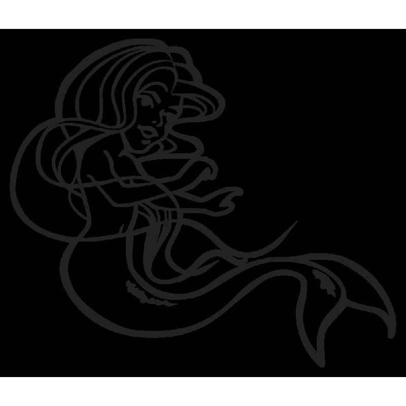 Sticker Petite Sirene