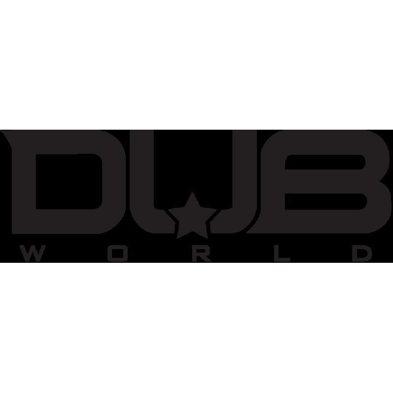 Sticker Jdm Dub World