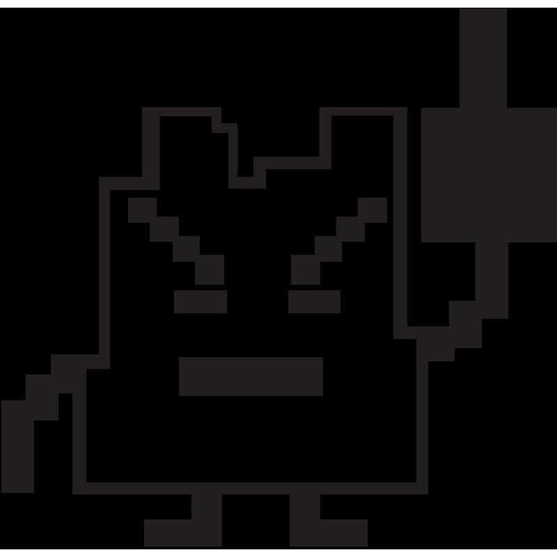 Sticker Jdm Space Invader