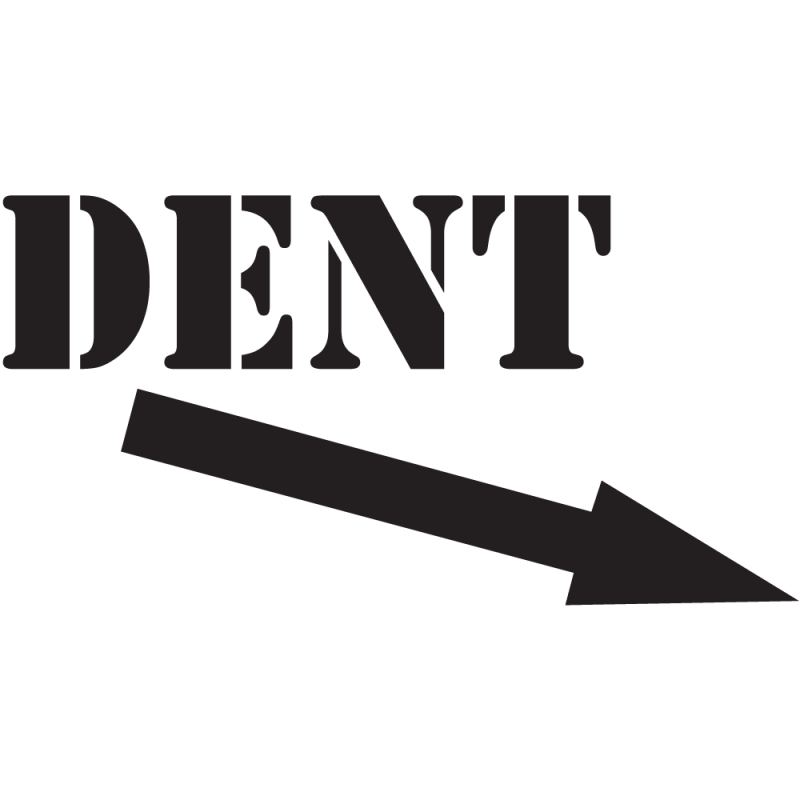 Sticker Jdm Dent