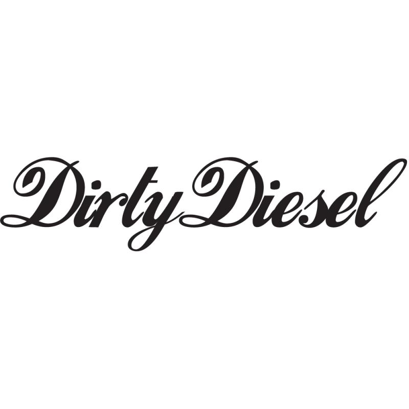 Sticker Jdm Dirty Diesel