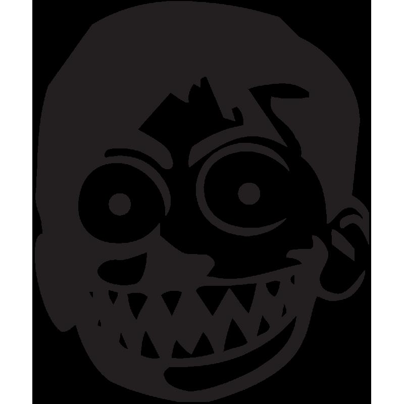 Sticker Jdm One Pice Zombie