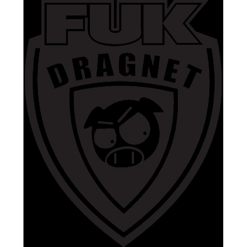 Sticker Jdm Fuk Dragnet
