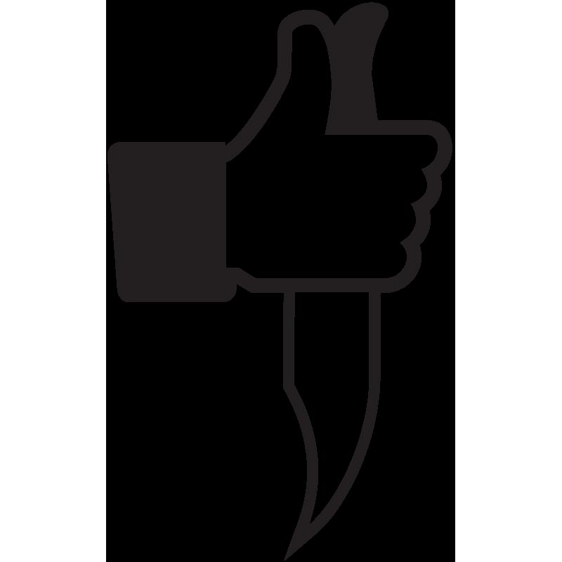 Sticker Jdm Facebook Crime