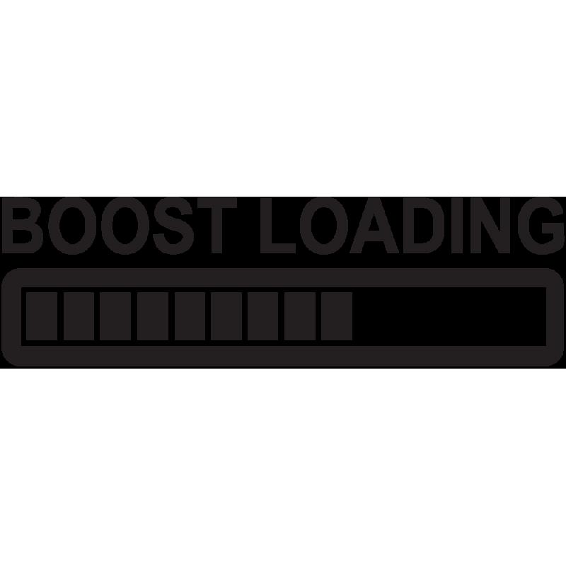 Sticker Jdm Boost Loading
