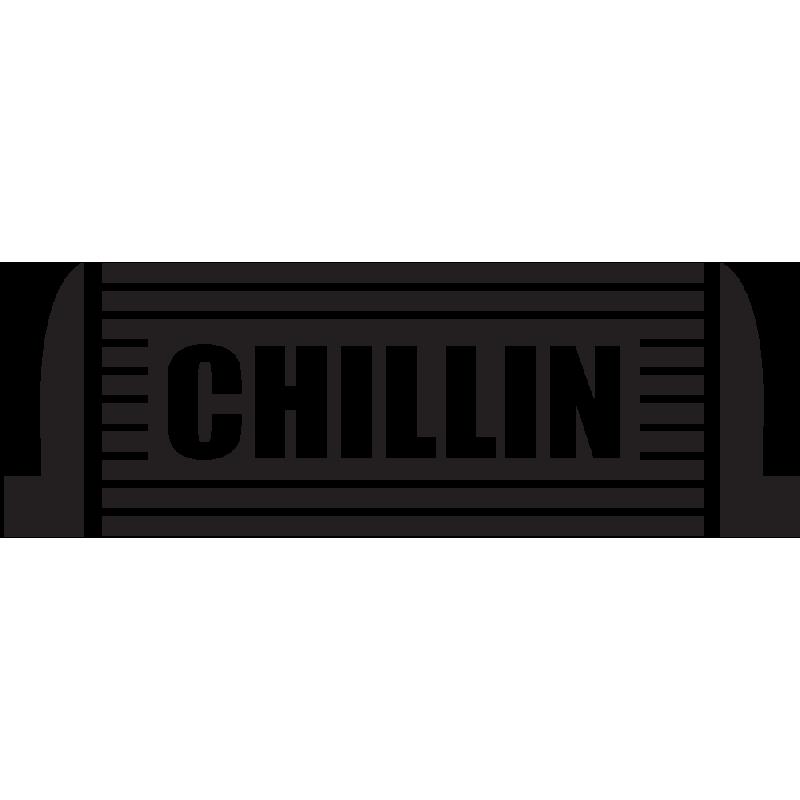 Sticker Jdm Chillin