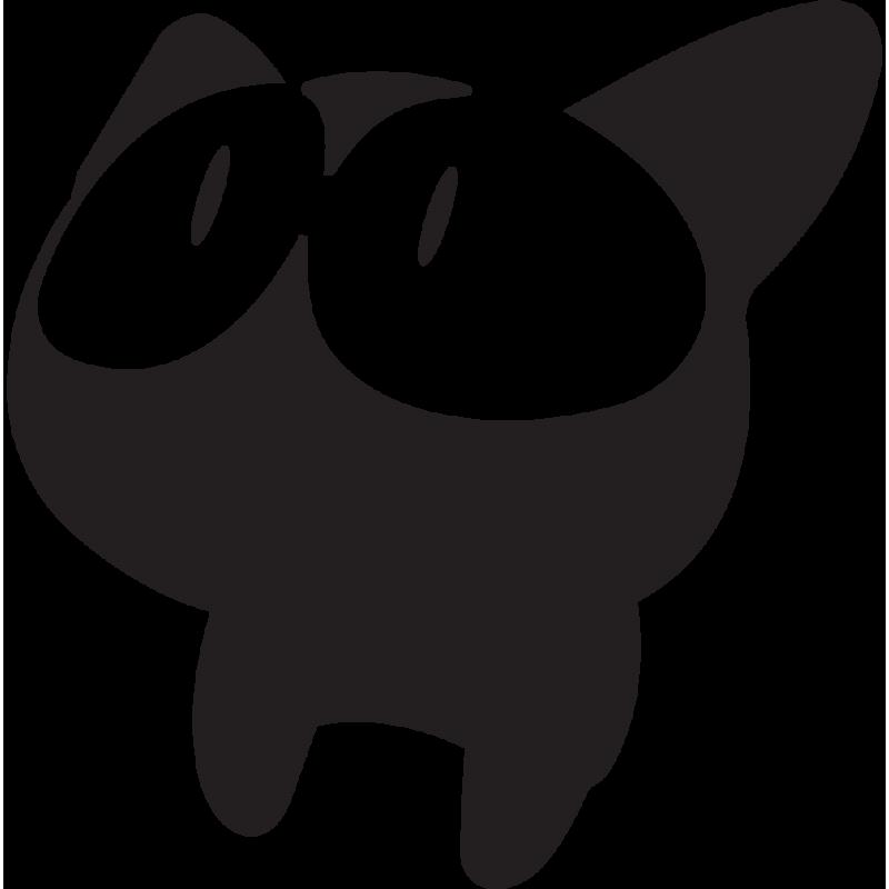 Sticker Jdm Chat Mignon