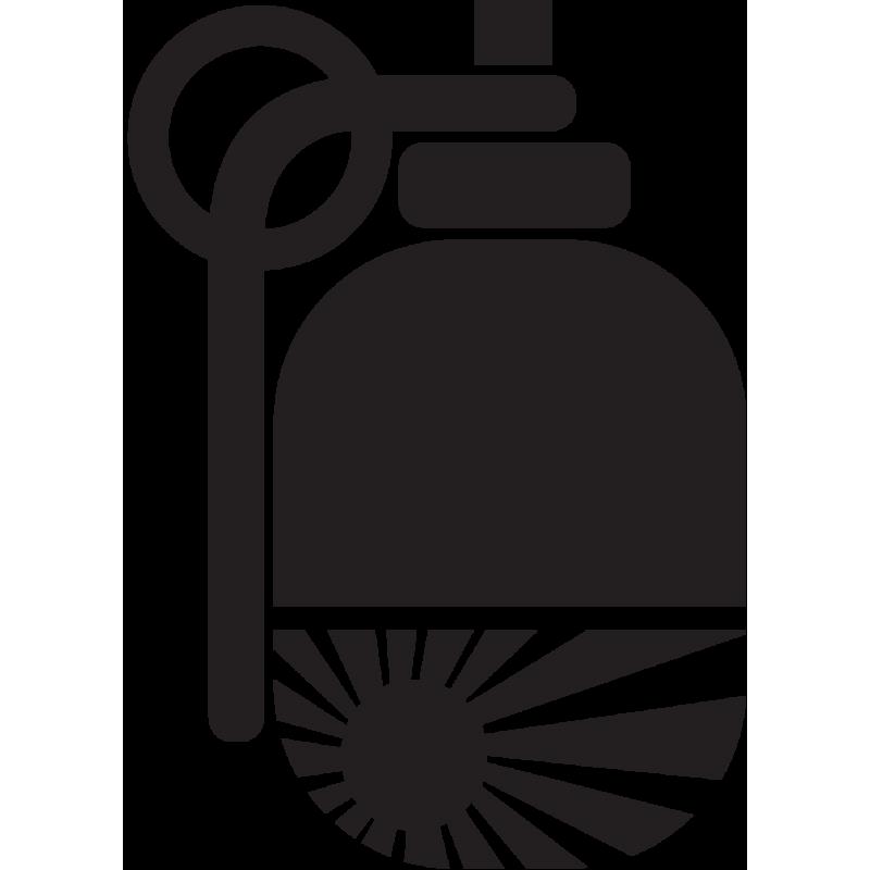 Sticker Jdm Grenade