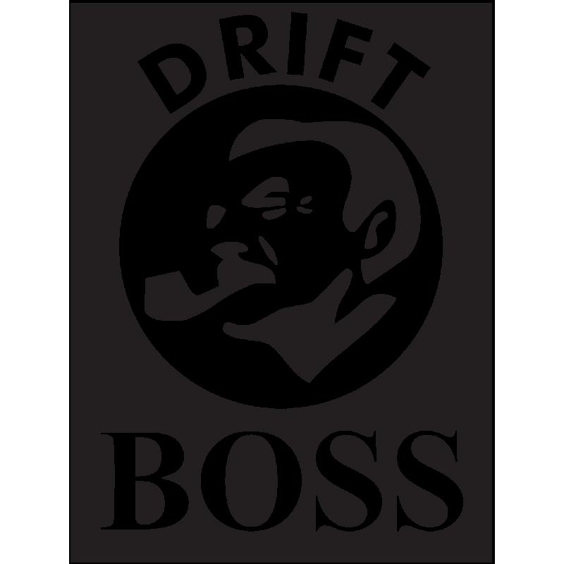 Sticker Jdm Drift Boss