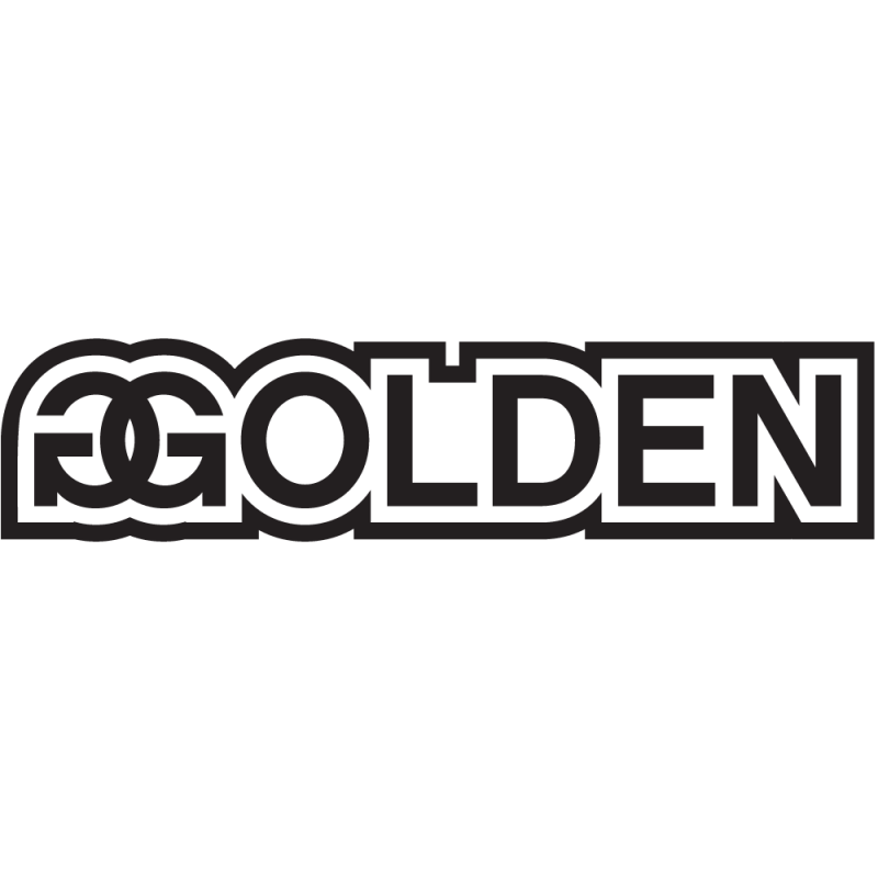 Sticker Jdm Golden