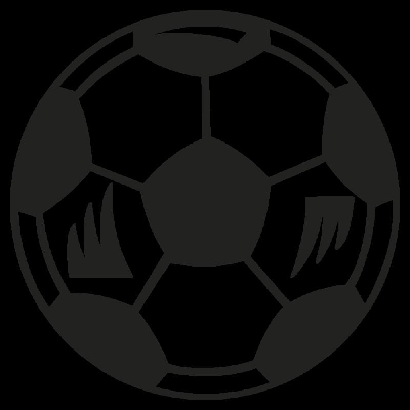 Sticker Ballon Foot