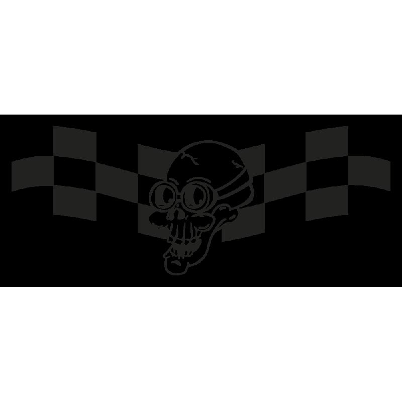 Sticker Tete De Mort