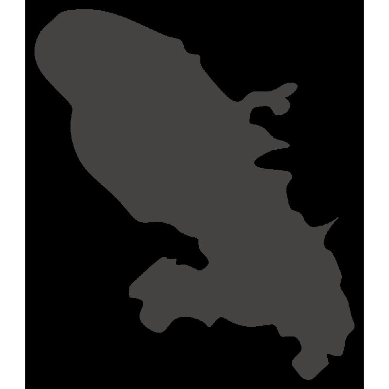 Sticker Martinique