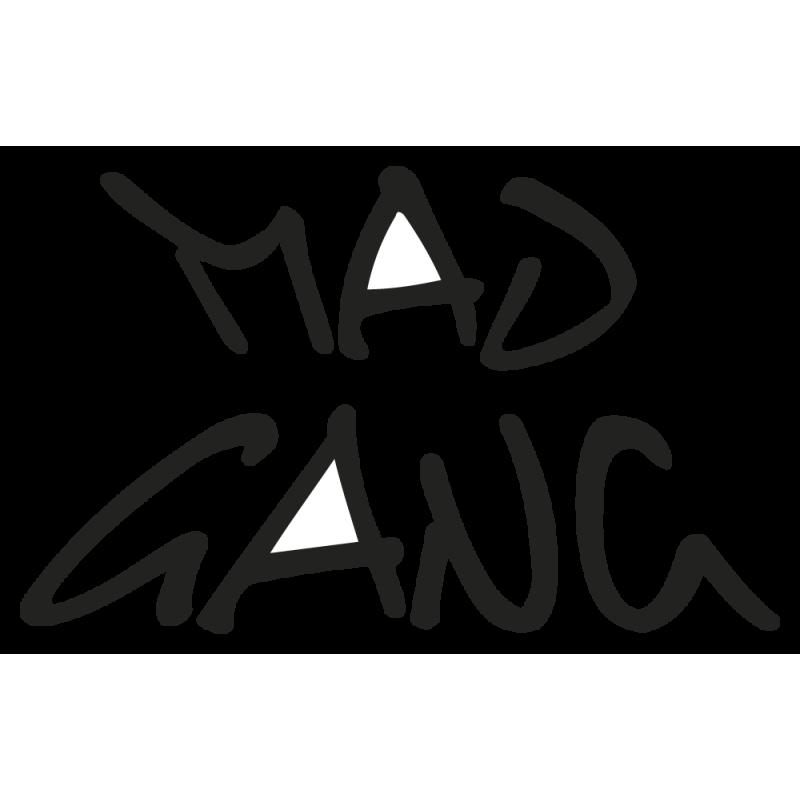 Sticker Mad Gang