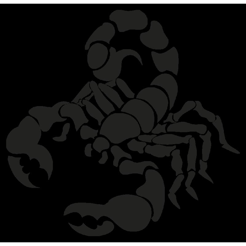 Sticker Signe Du Zodiaque Scorpion