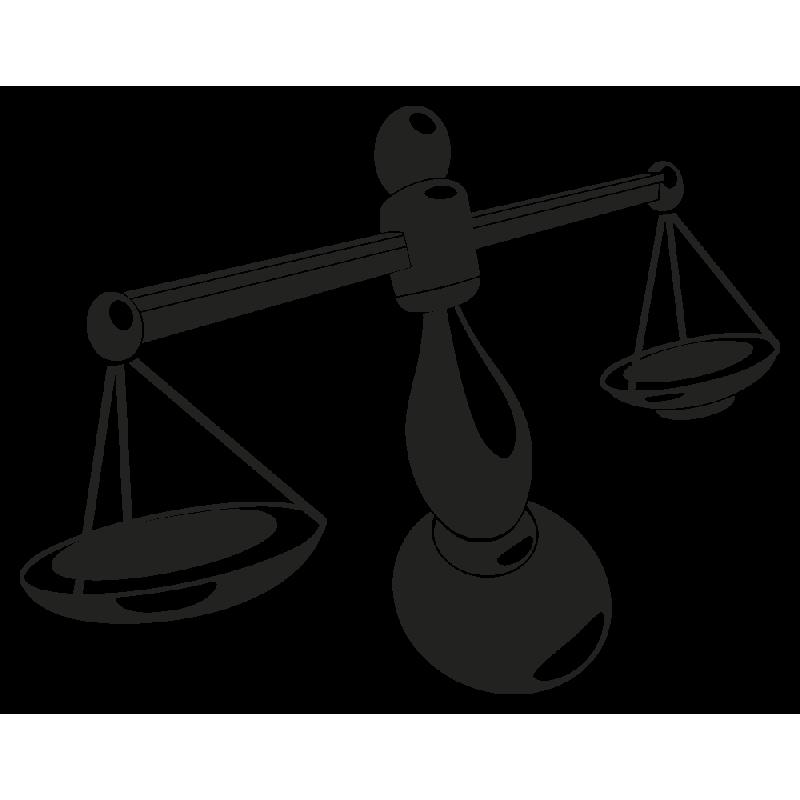 Sticker Signe Du Zodiaque Balance