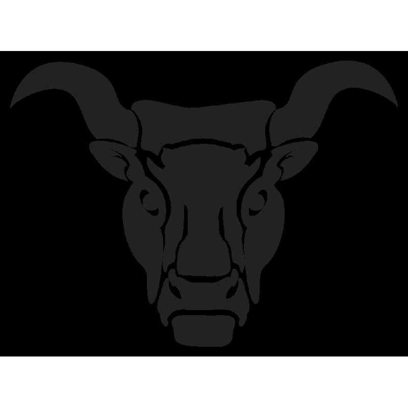 Sticker Signe Du Zodiaque Taureau
