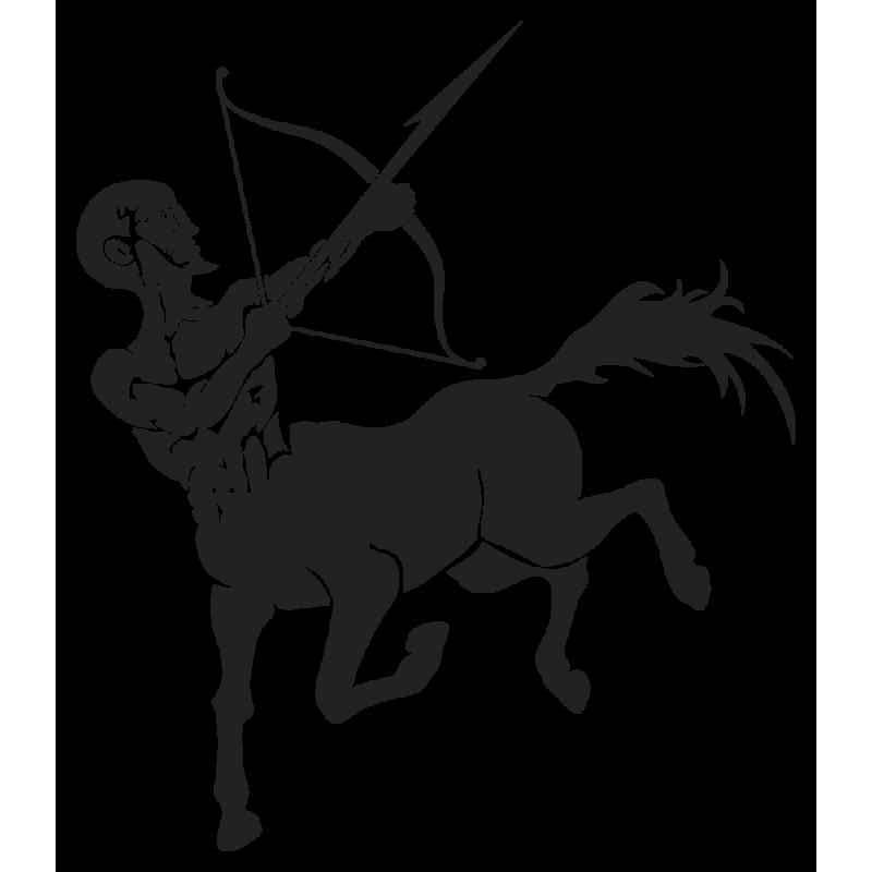 Sticker Signe Du Zodiaque Sagittaire