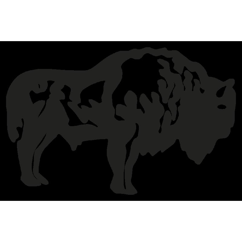 Sticker Bison