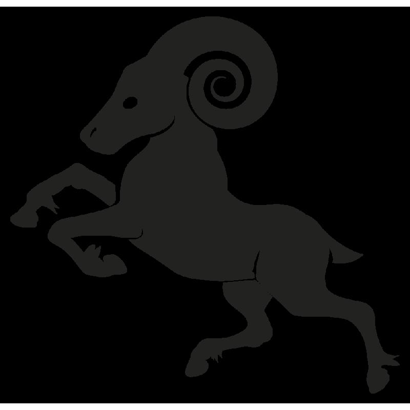 Sticker Signe Du Zodiaque Belier