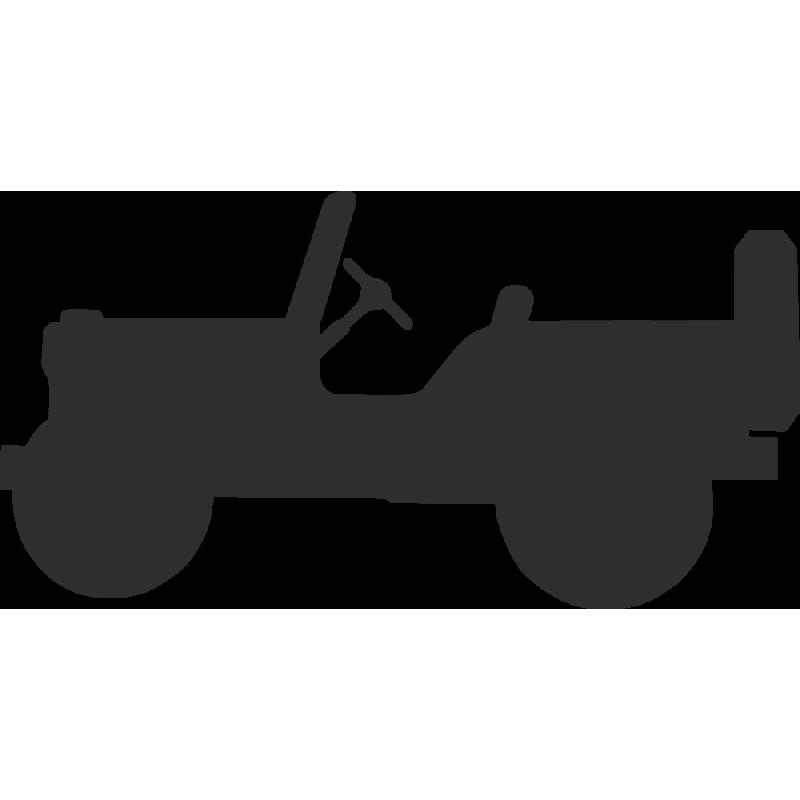 Sticker Jeep Logo